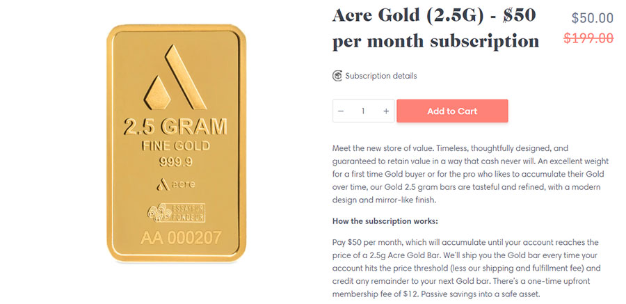 Acre Gold Review