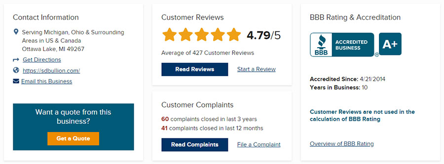 SD Bullion Review - Scam Or Legit Company?SD Bullion Review - Scam Or Legit Company?